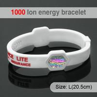ingrosso braccialetti del braccialetto del silicone di potere di energia-LITTLE FROG Power Energy ologramma bracciali braccialetti Balance Ion Magnetic Therapy Fashion Bands in silicone