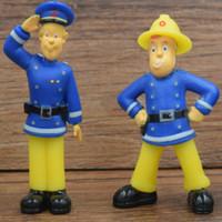 pvc 12 stk großhandel-Modell Action Figure Glück Ferkel 12 Teile / satz Feuerwehrmann Sam Spielzeug 3-6 cm Niedlichen Cartoon Pvc Puppen für Kinder Geschenk Anime Sammlung Modell Abbildung