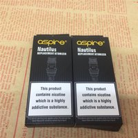 Wholesale Aspire nautilus replacement coils in stock also fit for second version tank fast shipping via DHL
