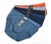 Wholesale Simple Underwear Briefs - 2013 HOT ! Free Shipping Simple And Elegance Male Briefs Men Bamboo Underwear M,L, XL,2XL,3XL Top Quality 5PCS lot Mix-colors
