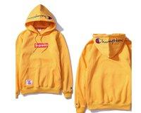 Wholesale Cotton Coats For Men - supf Hoodies printed box logo for Women men hoodie Sweatshirt hip hop fashion pluz size coats