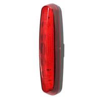 ingrosso acquistare luce rossa-5 LED Posteriore torcia retroilluminazione lampada rossa bici bicicletta accessori ciclismo YS-BUY