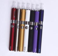 elektronische zigaretten bestellen großhandel-EVOD MT3 Zerstäuber elektronische Zigarette e Zigarette E Cig Kits 650 mah 900 mah 1100 mah Batterie Verschiedene Farben gemischt Bestellung verfügbar DHL