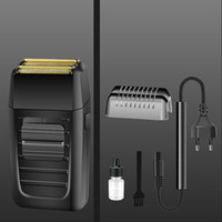 Wholesale rechargeable shaving machine resale online - Rechargeable Kemei KM Cordless Shaver for Men Face Care Multifunction Trimmer Strong Shaver Reciprocating Beard Razor Shaving Machine