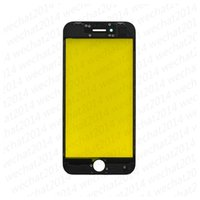 Wholesale outer frame - OEM Front Outer Glass Touch Screen Glass Lens with Frame for iPhone 8 Plus free DHL
