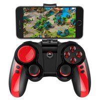 Wholesale ipega games - 1pc IPEGA PG Pirate Wireless Bluetooth Game cube Telescopic Controller Gamepad with Turbo accelerator for Android IOS Phone