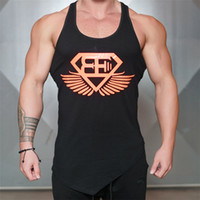Wholesale multi camo shirt online - Fitness Men Tank Top Camo Camouflage Mens Bodybuilding Stringers Tank Tops Singlet Brand Clothing Sleeveless Shirt
