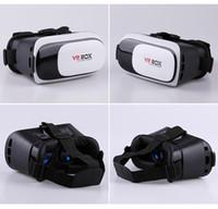 ingrosso occhiali 3d per il telefono-Casella virtuale VR per occhiali 3D VR Box 2.0 per realtà virtuale da 3,5-6