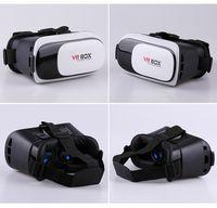 video gözlükleri 3d toptan satış-Sanal Gerçeklik VR Kutusu 2.0 3D Gözlük Kulaklık VR Kutusu 3.5-6