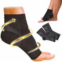 Wholesale Knee Sleeve Sock - Wholesale- NEW Foot Angel Compression 1~4 SLEEVE Plantar Fasciitis Anti Fatigue (S M L XL)