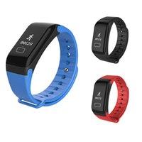 übungskabel großhandel-Smart-Armbanduhr Kapazitive Smart Watch Sports Fitness Aktivität Herzfrequenz-Tracker Blutstromkabel Druck Uhr
