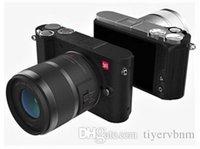 Wholesale 2x 12 - YI M1 Mirrorless Camera With 12-40mm F3.5-5.6 Lens   42.5mm F1.8 Lens international Version