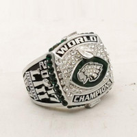 Wholesale fan rings - PreSale Philadelphia 2017 2018 Eagle s World 52th Championship Ring Fan Gift high quality wholesale Size 6-15