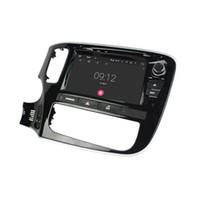 radio gps mitsubishi outlander al por mayor-Reproductor DVD del coche para MITSUBISHI Outlander 8Inch 2GB RAM PX5 Cortex A53 Andriod 6.0 con GPS, Bluetooth, radio