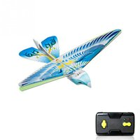 детские игрушки для мальчиков оптовых-RC Bird RC Airplane 2.4 GHz Remote Control E-Bird ing Birds Electronic Mini Drone Toys