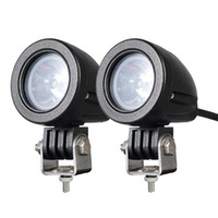 Wholesale offroad lights for sale - 2PCS W MINI Motorcycle Fog Driving Lights LED Spot Beam POD Work Auxiliary Lamp Offroad Truck Dirt Bike Jeep Wrangler ATV SUV V V