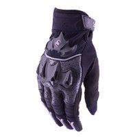 deri motokros eldivenleri toptan satış-Motosiklet Eldiven Motosiklet Sürüş Korumak Deri Eldiven Guantes Moto de Moto Luvas Alp Motocross Yıldız luva motoqueiro
