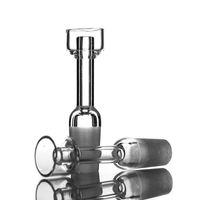 anfang großhandel-100% Real Quartz Banger st-645 656 14mm 18mm Quartz Domeless Nagel Weiblich Männlich 45 Grad Quarz Banger Nagel