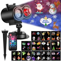 Wholesale ocean lights online - Ocean Wave Christmas Projector Lights in Moving Patterns with Ocean Wave LED Landscape Lights Waterproof Outdoor Indoor Xmas Theme Party