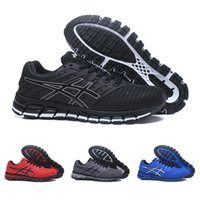 Wholesale mens golf shoes size 11 - 2018 Asics New gel-quantum 360 TN vamp Mens Running Shoes Black Blue Red Grey Fashion Low outdoor sport Sneakers Size 7.5-11