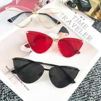 ingrosso occhiali da sole gatto nero occhiali da sole europa-occhiali da sole vintage anti-ultravioletti per uomo e donna in Europa. Gli occhiali Ken sono gli stessi