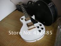Wholesale deluxe guitar - Wholesale 2013 new style Deluxe desert sunburst G custom LP electric guitar in stock