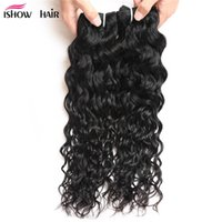 Wholesale hot water hair extensions - Hot Sell 8A Brazilian Water Wave Virgin Hair 10PCS Wholesale Price Peruvian Virgin Hair Wet and Wavy Virgin Hair Extensions Unprocessed