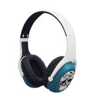 cartes dynamiques achat en gros de-L8 visiocasque bleu dynamique sans fil Bluetooth MP3 carte de tête pliable téléphone portable éponge universelle casque antibruit casque