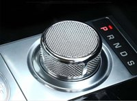 Wholesale Jaguar Part - Gear shift head knob cover sticker trim for Jaguar xe xf FPACE F-PACE xj replacement parts
