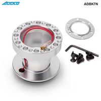 honda jdm räder großhandel-ADDCO Racing Aluminium Lenkrad mit Boss Adapter Nabe Kit für Nissan Skyline S13 S14 S15 R33 R34 ADBK7N