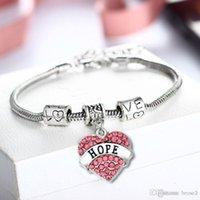 Wholesale product channels - new product explosives family member burst bracelet heart alloy diamond peach heart fashion simple