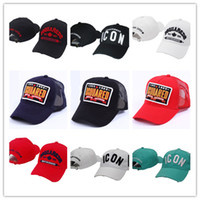 Wholesale women hip hop hats - 2018 New retail icon D2 Snapback Cap Hip-hop Men Women Snapbacks Hats Baseball Sports Caps,free shipping