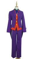 Wholesale cosplay batman joker online - BATMAN THE DARK KNIGHT JOKER CLASSIC SUIT cosplay M002