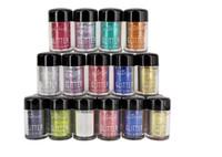 Wholesale 12 nail powder online - Hot Popfeel Colors Glitter Dust Powder Set Makeup Eyeshadow Nail Art Tips DIY Craft Decor
