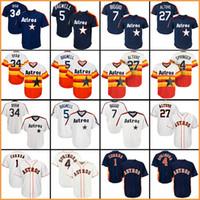 9124043c1 Wholesale baseball jerseys for sale - 2018 baseball jerseys Houston Astros  jersey George Springer Carlos Correa
