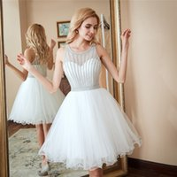 dresses 12 years Canada - Short Prom dresses Cocktail Dress New Year Party  Dress Beading Top d4e4cc98a979