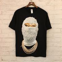 Wholesale short sleeve plaid shirts women - 2018 Summer Style High Definition 2colors head Printed Women Men Cotton T shirts tees Hiphop Steetwear Men Short Sleeve T shirt