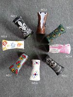 Wholesale embroidery factories - Factory Outlets Cherry Golf Greens Embroidery Golf Club Headcover for Blade Putter Personality Style 8 options
