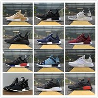 118800ad8d498 2018 NMD XR1 Running Shoes Mastermind Japan Skull Fall Olive green Camo  Glitch Black White Blue zebra Pack men women sports shoes 36-45
