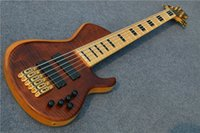 Wholesale smith electric guitars for sale - Super deluxe strings Electric Bass guitar Active Pickups smith bass Gold hardware guitarra guitars