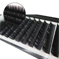 Wholesale silk lash tray for sale - Group buy 50 Trays mm mm Top Quality South Korean Silk Individual Eyelashes Extension Classic Lashes