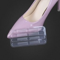 Wholesale wholesale gel stickers - GEL heel paste high heel stickers anti-wear clear thin strip paste shoes sandals grinding foot stickers