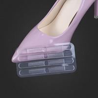 desgaste del pie del talón al por mayor-GEL heel paste pegatinas de tacón alto antidesgaste claro tira fina pegar zapatos sandalias molienda pegatinas de pie