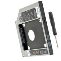asus festplatten großhandel-12.7mm neuer 2. Festplattenlaufwerk Caddy für ASUS A53E F80S A52F G57JK N43JF N43JQ N53Jf N53Jg A43 A43SM A43SJ A43SV A43SD