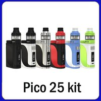 Wholesale Pico Battery - 2018 hot selling Design Pico 25 Kit 85W Box Mod With OLED Screen Without Battery Vape Kit Dry Herb Vaporizer dhl
