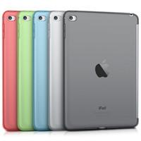 ipad mini yumuşak jel kılıf toptan satış-TPU Jel Kılıf Yumuşak Kapak için iPad Mini 2/3/4 Pro 9.7 10.5 Koruyucu Tablet Kapak Yüksek Kalite