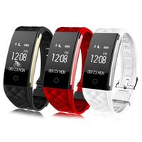 montre bracelet tw64 smart achat en gros de-2018 Fréquence cardiaque dynamique S2 Smartband Fitness Tracker Compteur Pas À Pas Smart Watch Band Bracelet de Vibration pour iOS iOS pk ID107 fitbit tw64