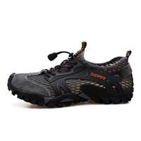 ingrosso scarpe escursionistiche scarpe da arrampicata-Kezrea Outdoor Sneakers Scarpe da trekking da uomo Sport Traspirante Lace-up Uomo Scarpe da arrampicata Sandali Estate Trekking Acqua