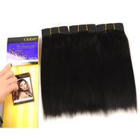 Wholesale yaki perm human hair online - human hair bundles yaki shining star high quality low price human hair extensions bundles