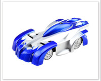 Wholesale wall cars toys for sale - Group buy Halloween Christmas Toy Rc Wall Climbing Car Remote Control Anti Gravity Ceiling Racing Car Electric Toy Machine Auto Gift For Children